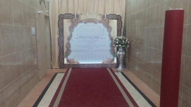 שטיח מיוחד לכניסה