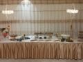 חיפוי אולם ושולחן לבר